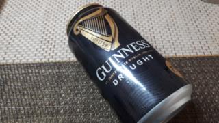 Guinness ギネスビールの外見(オリジナル写真)