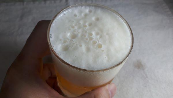 京都麦酒 ゴールドエールを飲むところ