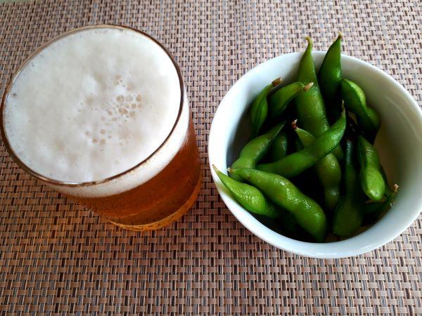 僕ビール、君ビール。と枝豆