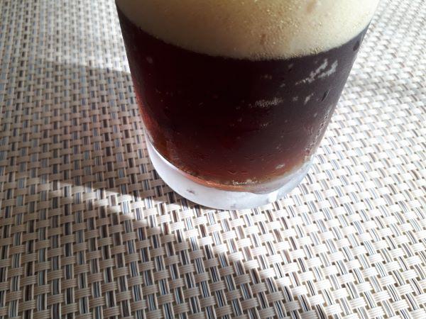THE 軽井沢ビール 黒ビール(ブラック)の色合い