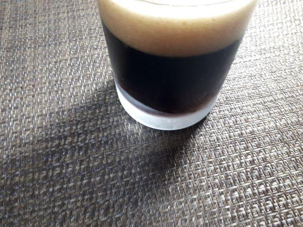 サッポロ黒ビールの色合い