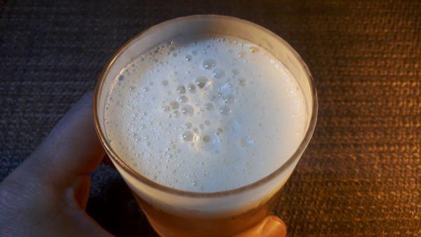 キリン「のどごしZERO」を飲む