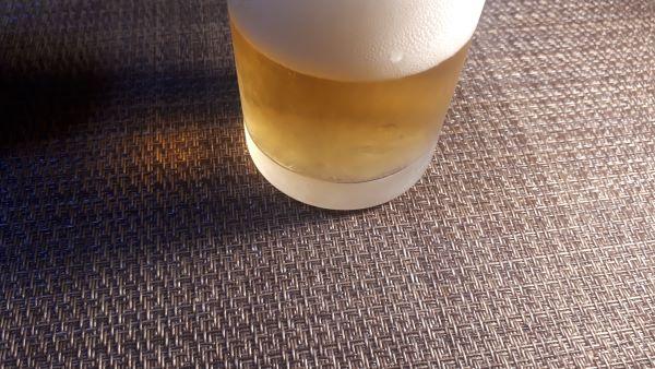 キリン「のどごし 超爽快」を飲む(オリジナル写真)