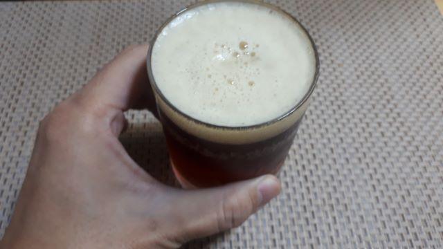 サントリー 金麦「深入りのコク」を飲む(オリジナル写真)