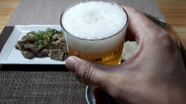 サッポロビール園 サマーピルスを飲む(オリジナル写真)